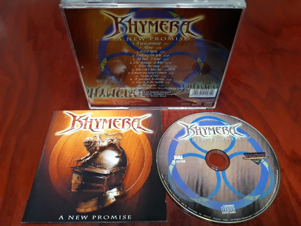 Khymera - A New Promise CD Photo