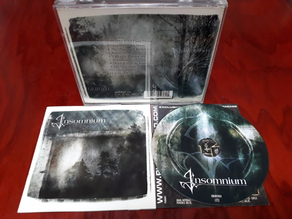 Insomnium - Since the Day It All Came Down CD Photo