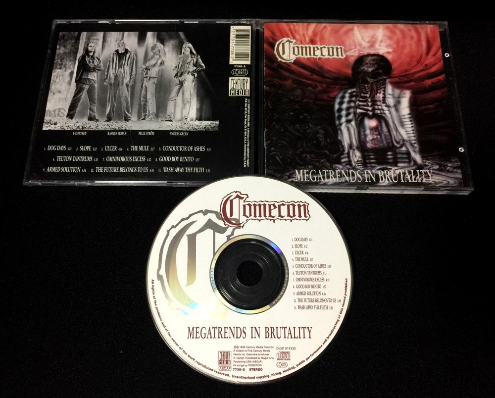 Comecon - Megatrends in Brutality CD Photo