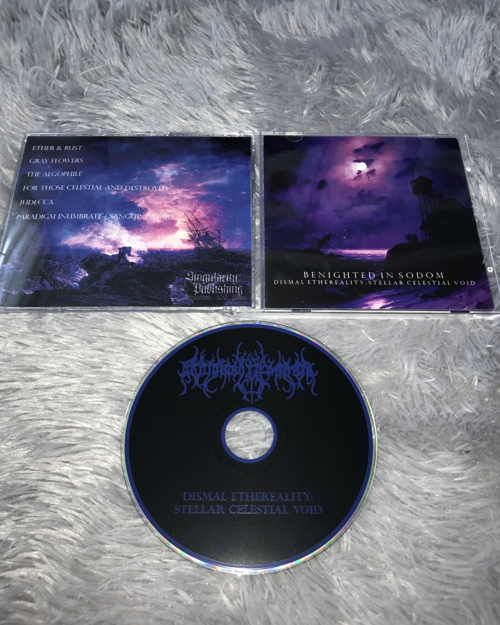 Benighted in Sodom - Dismal Ethereality: Stellar Celestial Void CD Photo