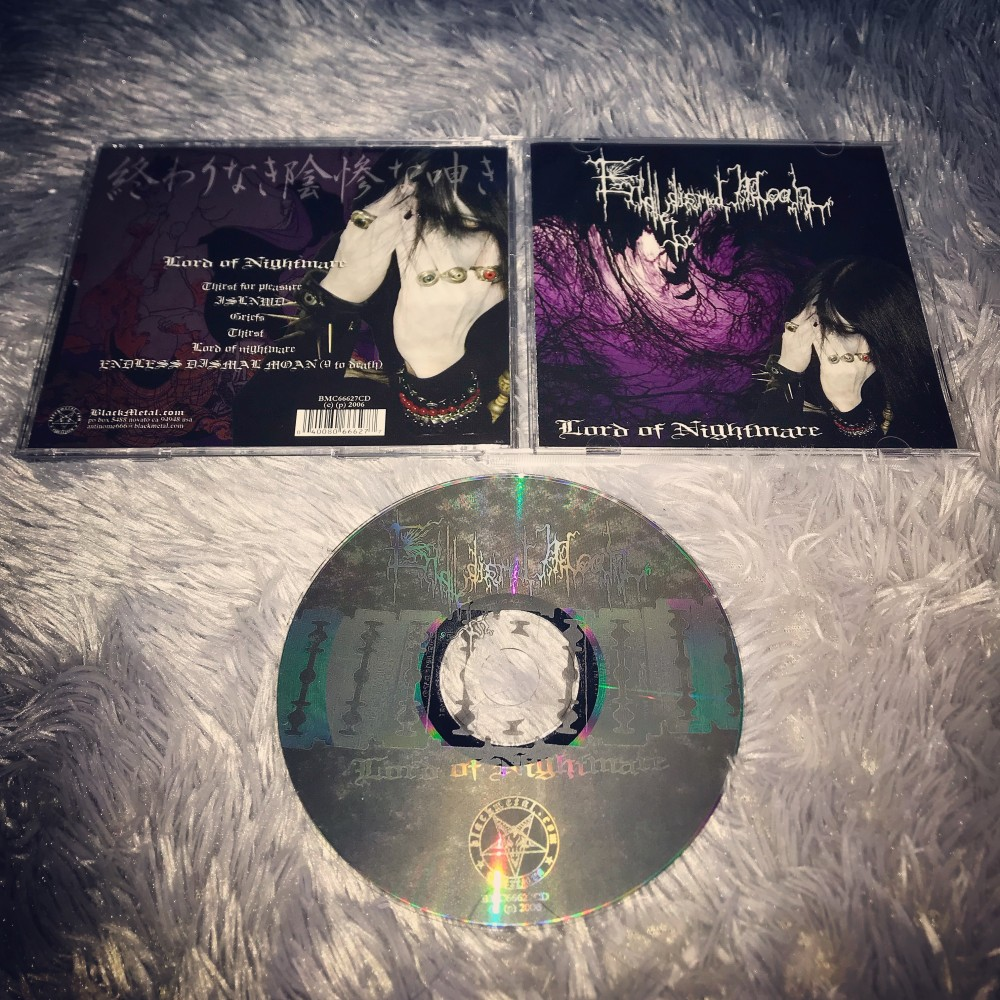 Endless Dismal Moan - Lord of Nightmare CD Photo