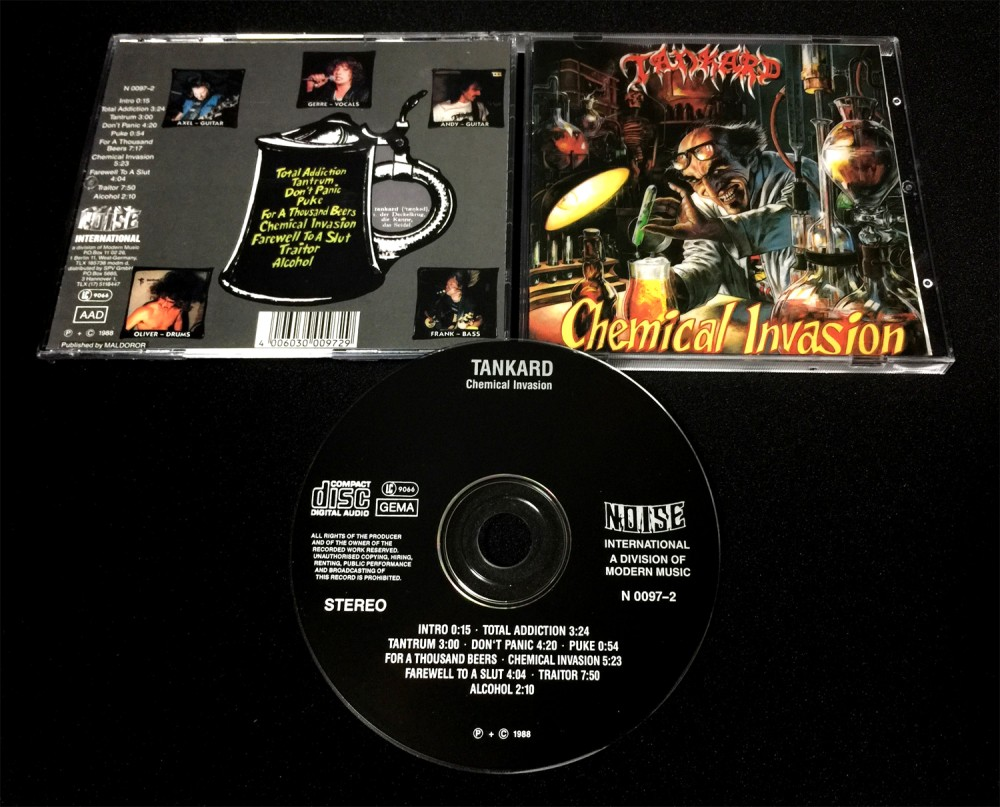 Tankard - Chemical Invasion CD Photo