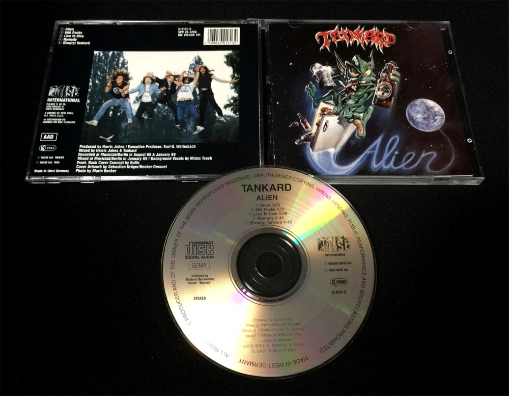Tankard - Alien CD Photo