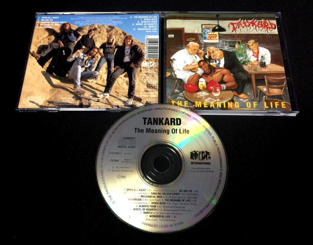 Tankard - The Meaning of Life CD Photo