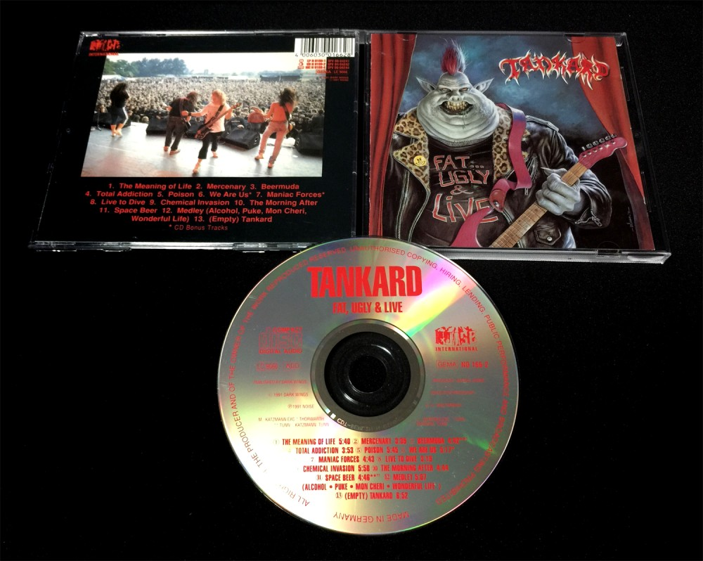 Tankard - Fat, Ugly and Live CD Photo