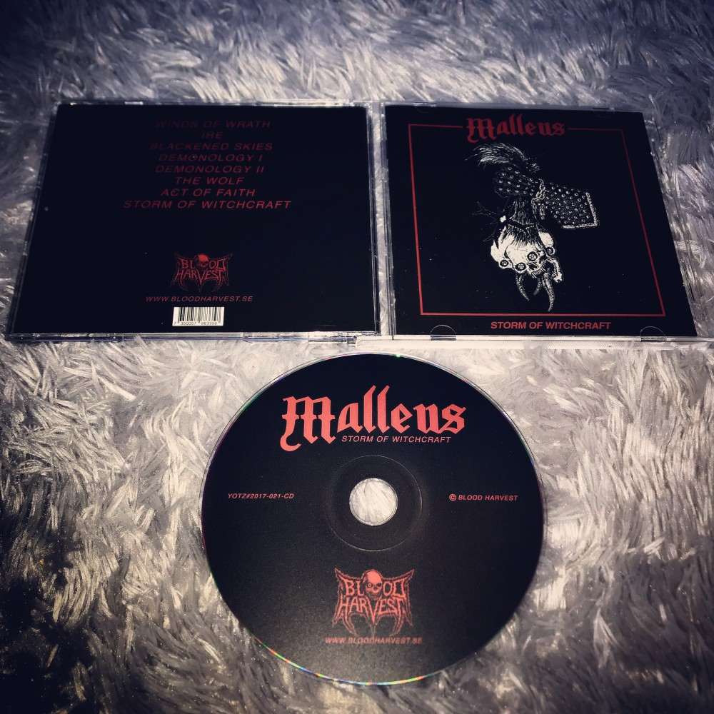 Malleus - Storm of Witchcraft CD Photo