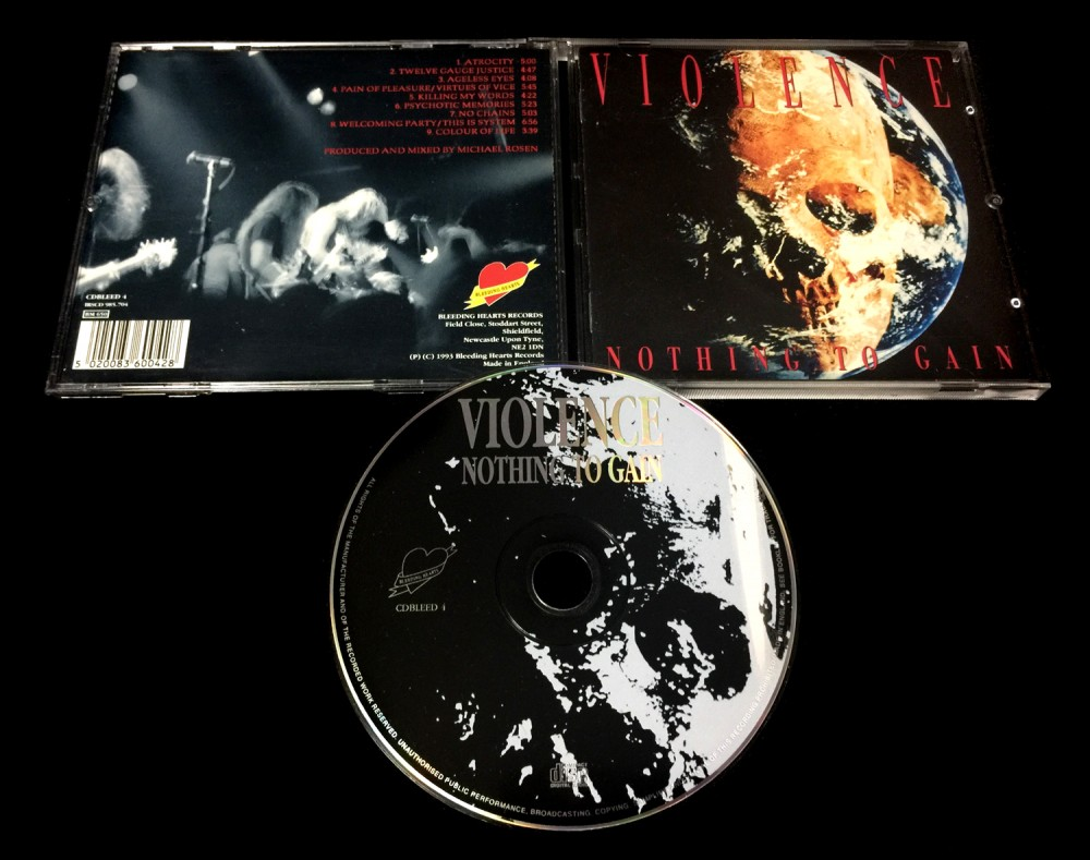 Vio-lence - Nothing to Gain CD Photo