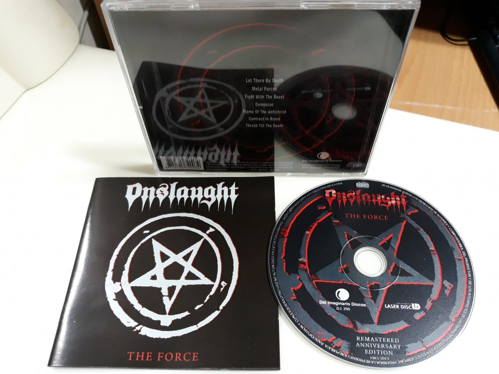 Onslaught - The Force CD Photo