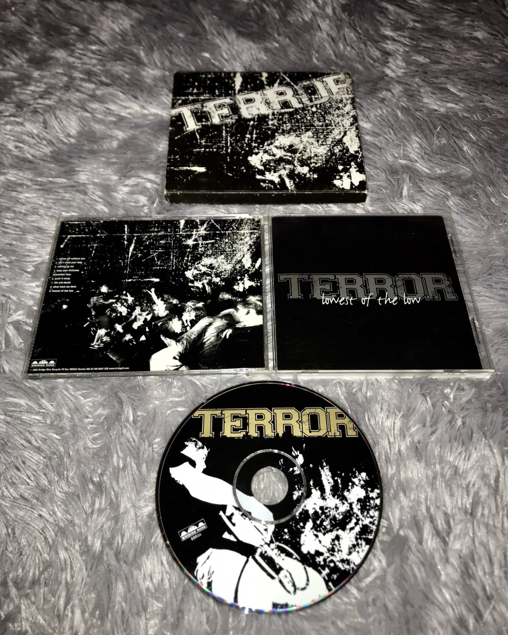 Terror - Lowest of the Low CD Photo