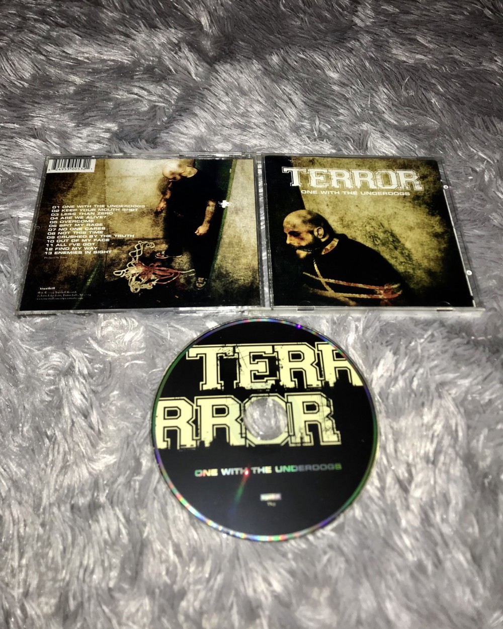 Terror - One With the Underdogs CD Photo
