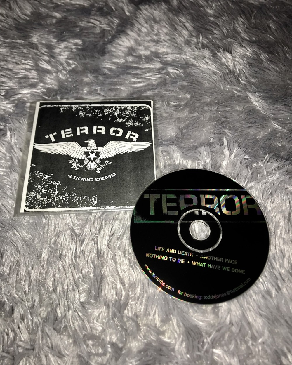Terror - Life and Death - The Demo CD Photo