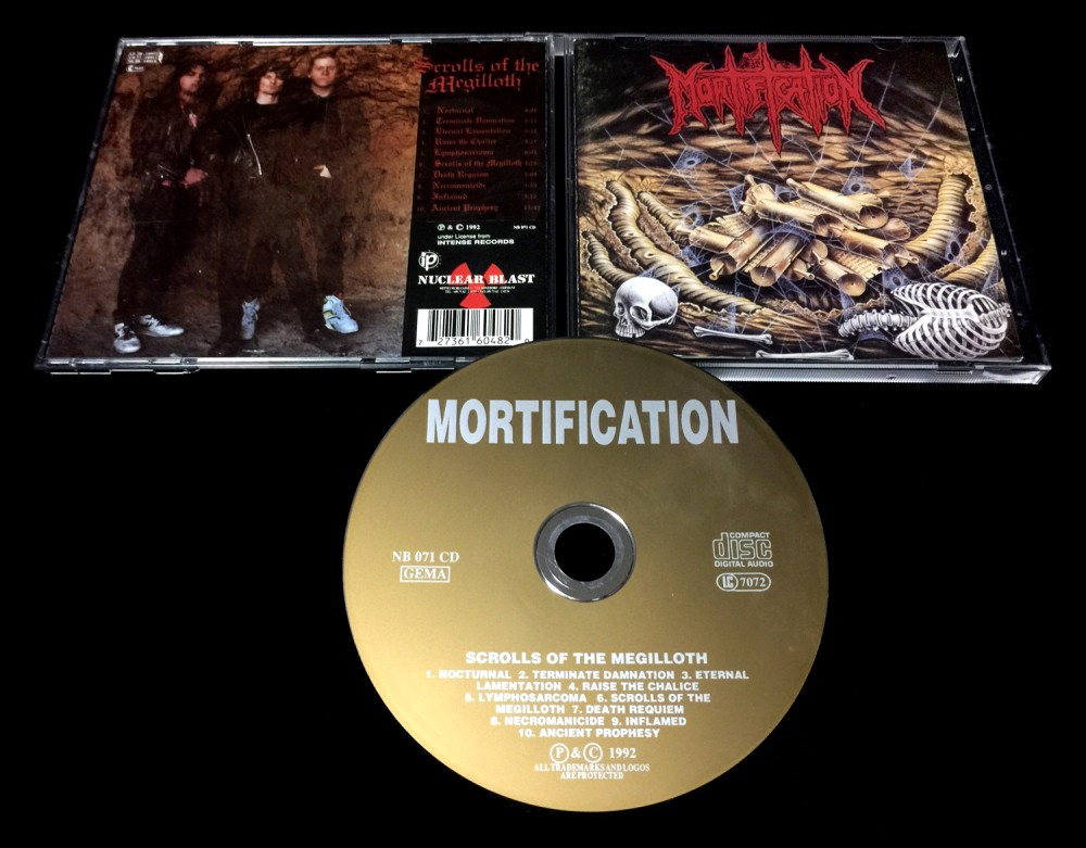 Mortification - Scrolls of the Megilloth CD Photo