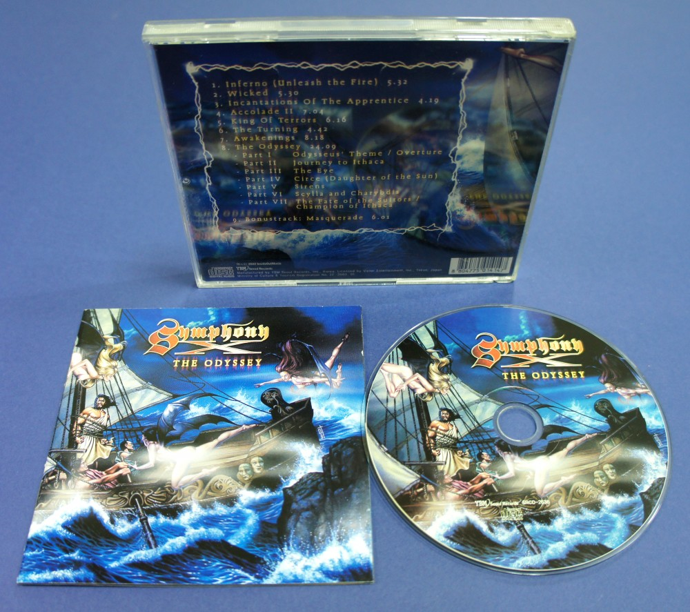 Symphony X - The Odyssey CD Photo