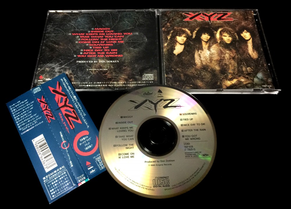XYZ - XYZ CD Photo