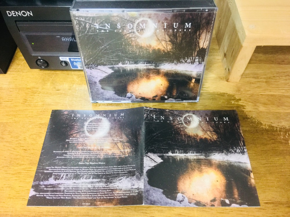 Insomnium - The Candlelight Years CD Photo