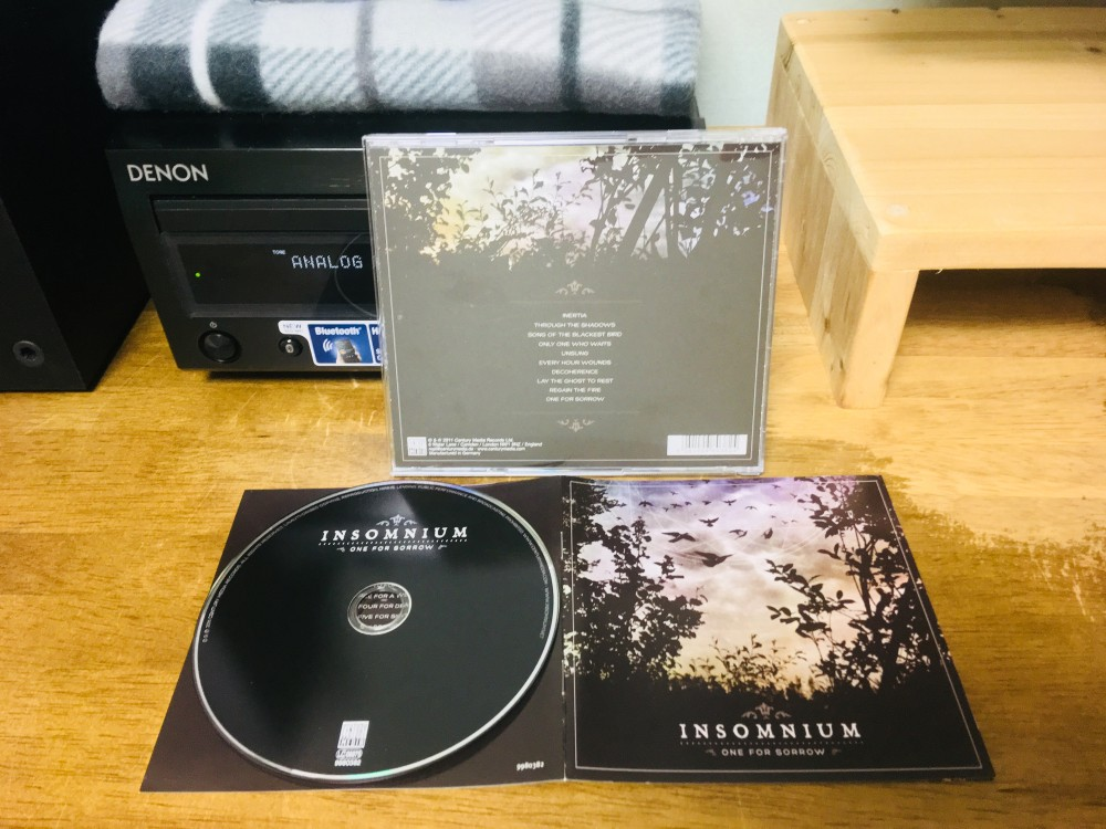 Insomnium - One for Sorrow CD Photo