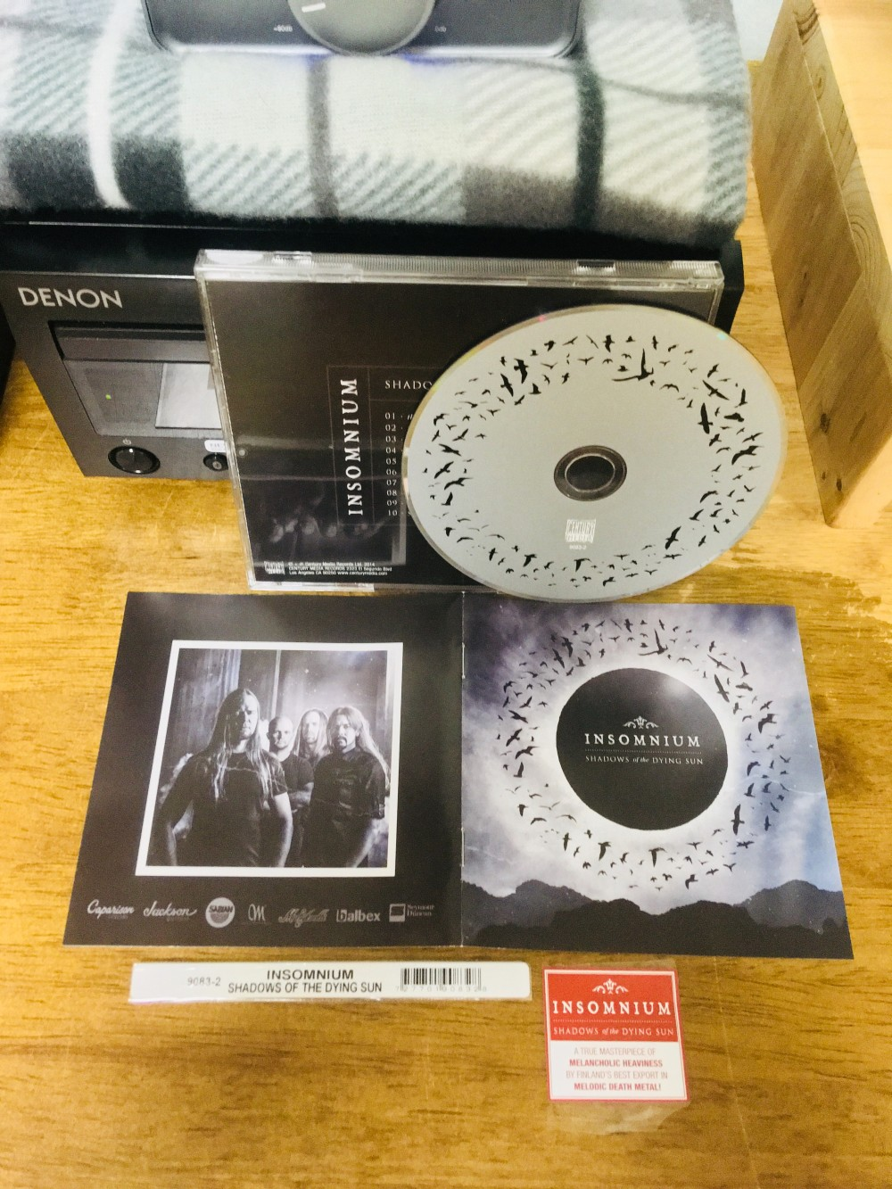 Insomnium - Shadows of the Dying Sun CD Photo