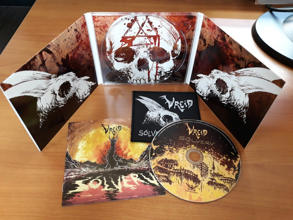 Vreid - Sólverv CD Photo