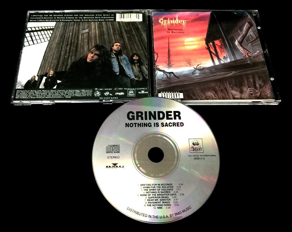 Grinder - Nothing Is Sacred CD Photo | Metal Kingdom