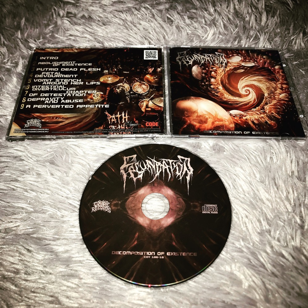 Fecundation - Decomposition of Existence CD Photo