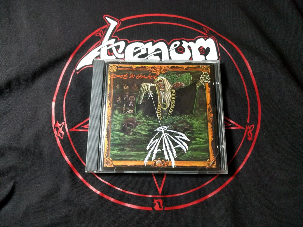 Satan - Court in the Act CD Photo