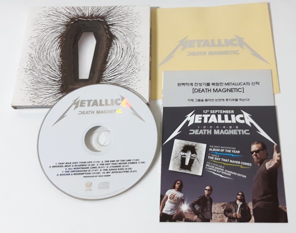 Metallica - Death Magnetic CD Photo
