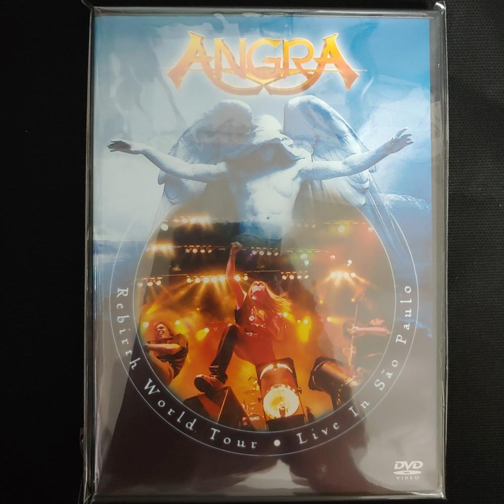dvd angra rebirth