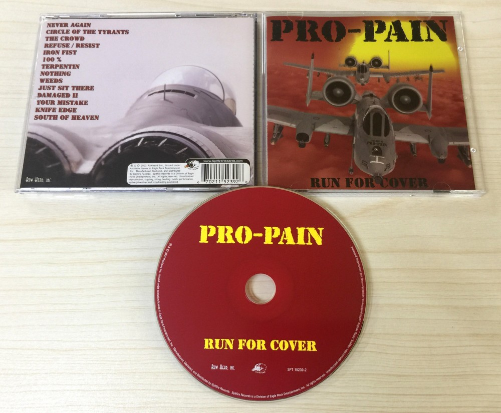 Pro-Pain - Run for Cover CD Photo