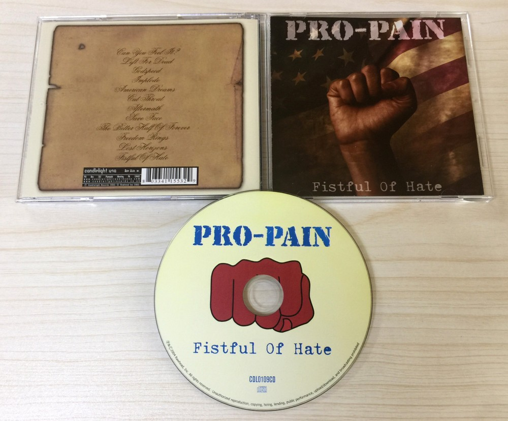 Pro-Pain - Fistful of Hate CD Photo