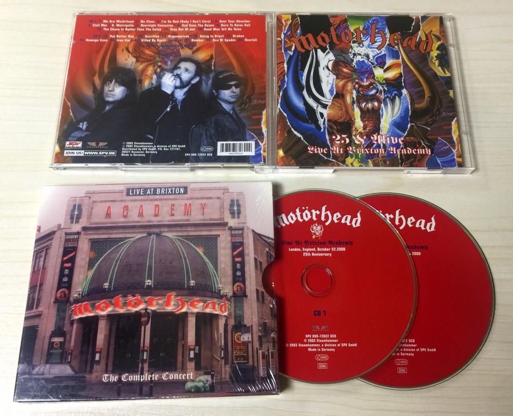 Motorhead - Live At Brixton Academy CD Photo | Metal Kingdom