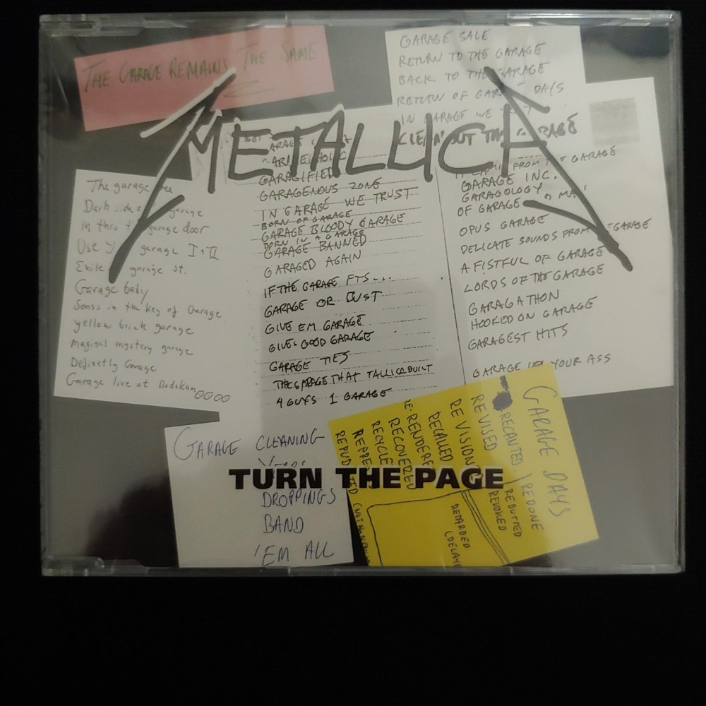 Metallica - Turn the Page CD Photo
