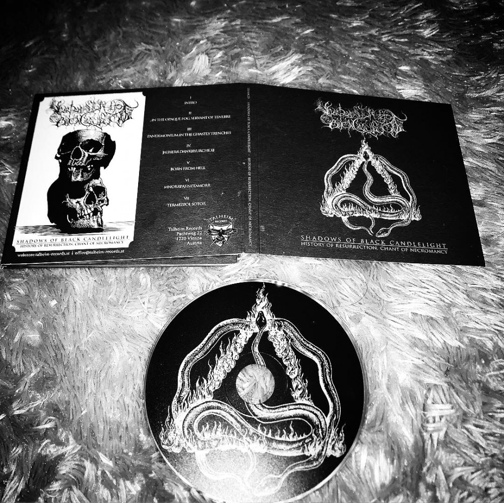 Shadows of Black Candlelight - History of Resurrection, Chant of Necromancy CD Photo