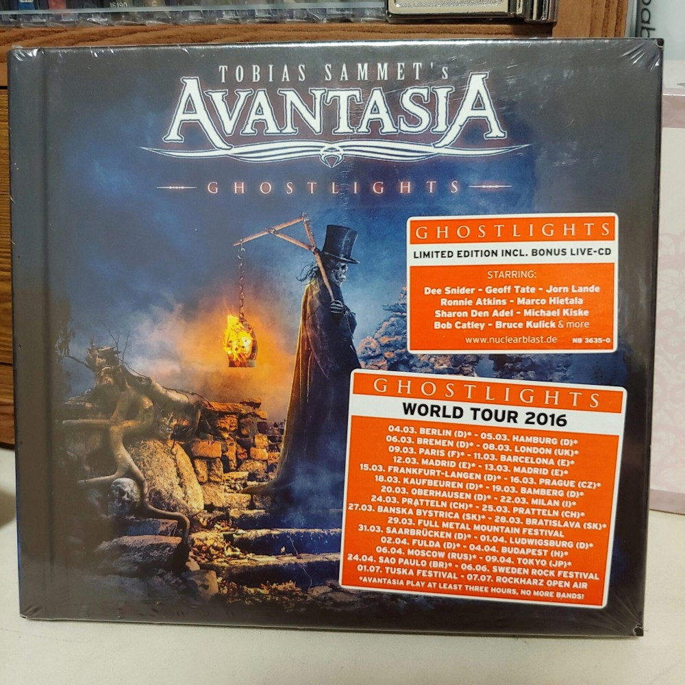 Avantasia - Ghostlights CD Photo