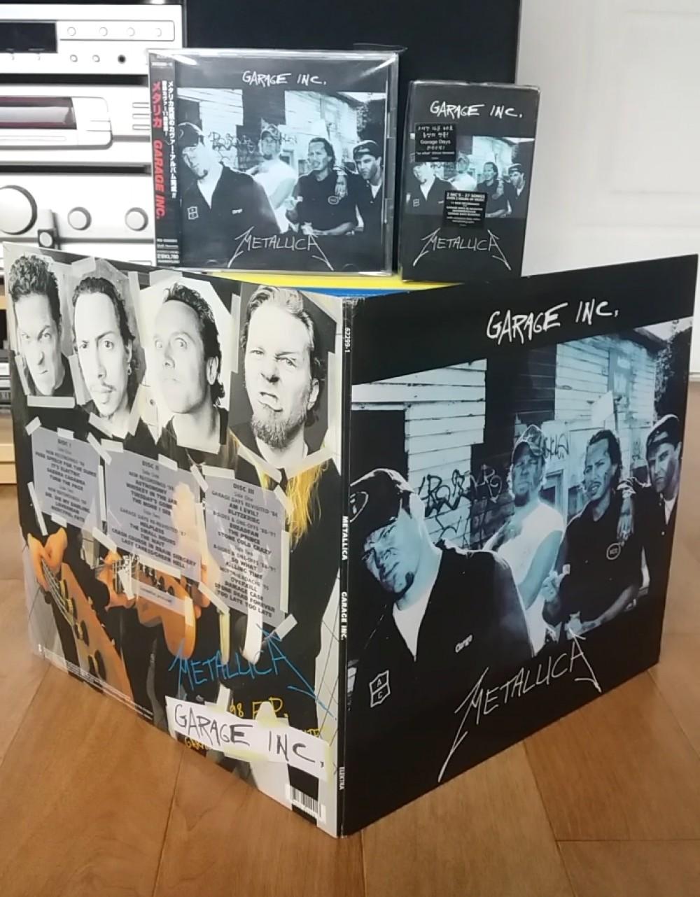 Metallica Garage Inc Vinyl Cd Cassette Photo Metal Kingdom