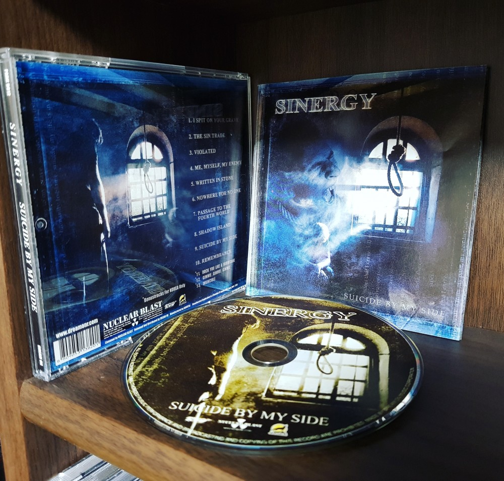 Sinergy - Suicide By My Side CD Photo