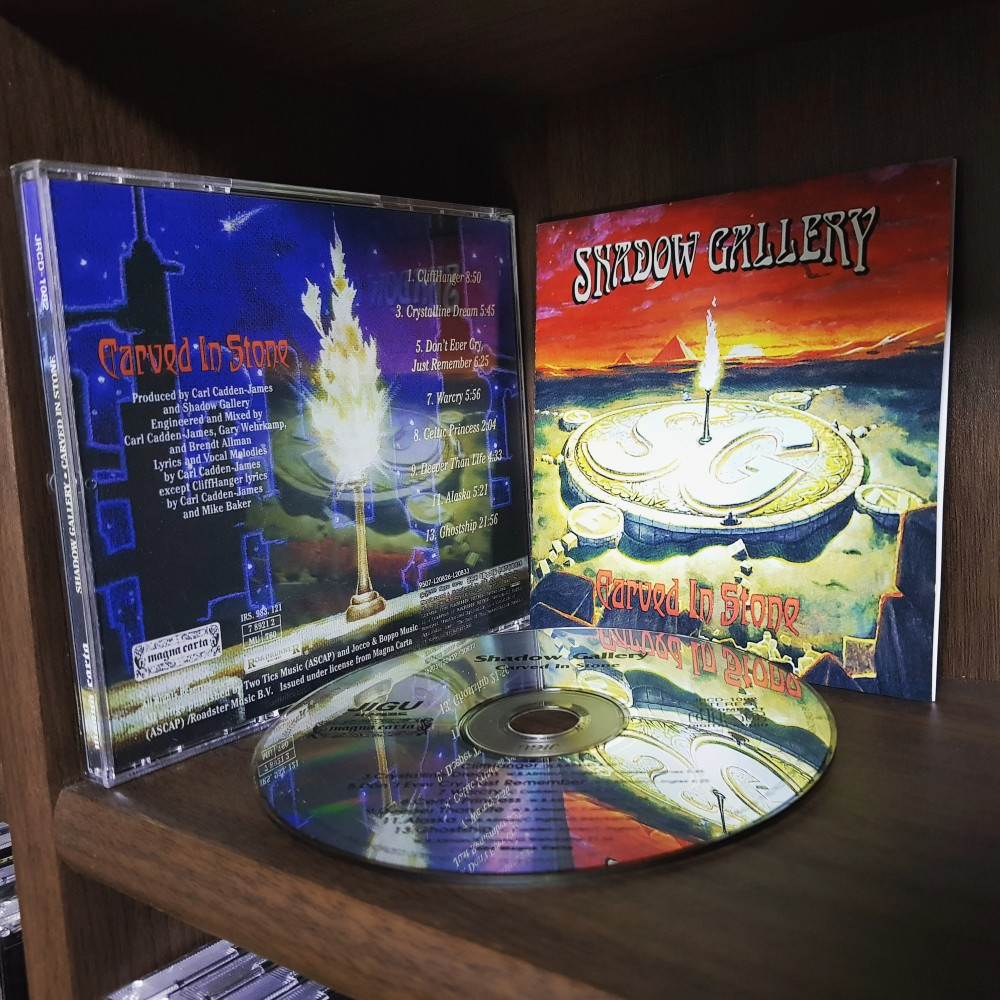 Shadow Gallery - Carved in Stone CD Photo