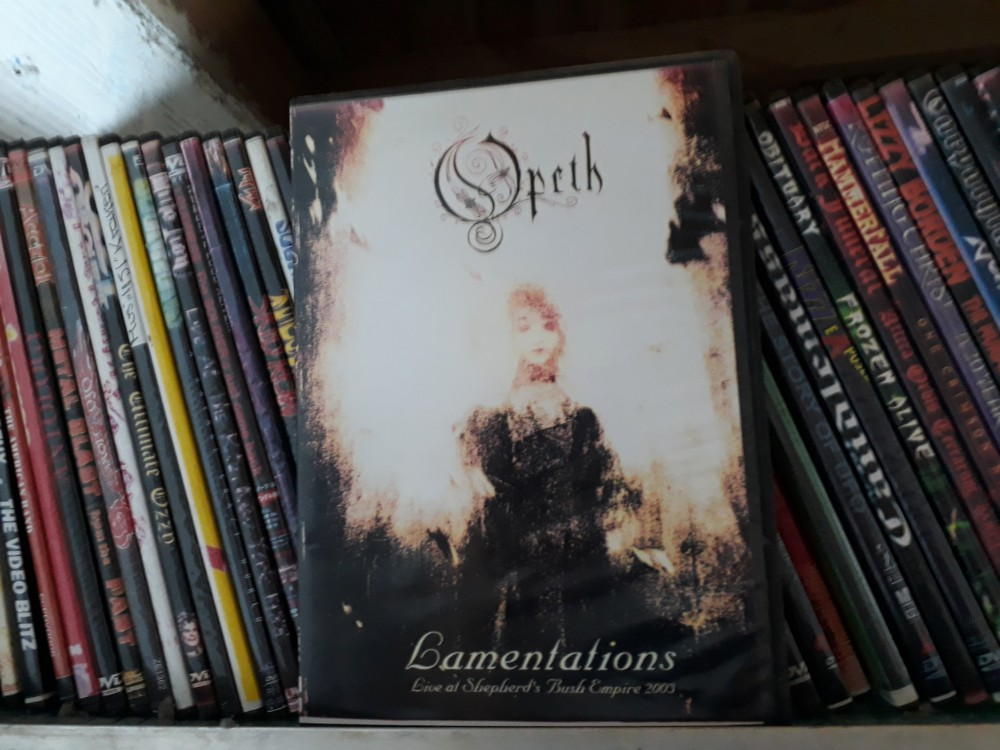 Opeth - Lamentations: Live at Shepherd's Bush Empire DVD Photo