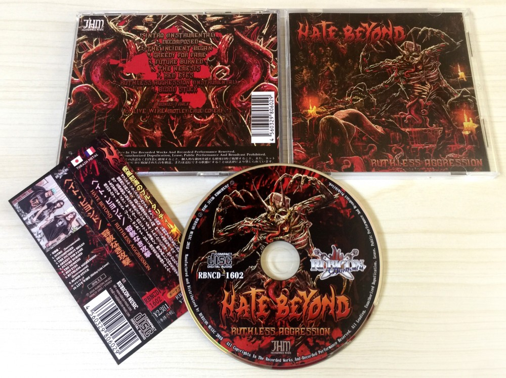 Hate Beyond - Ruthless Agression CD Photo