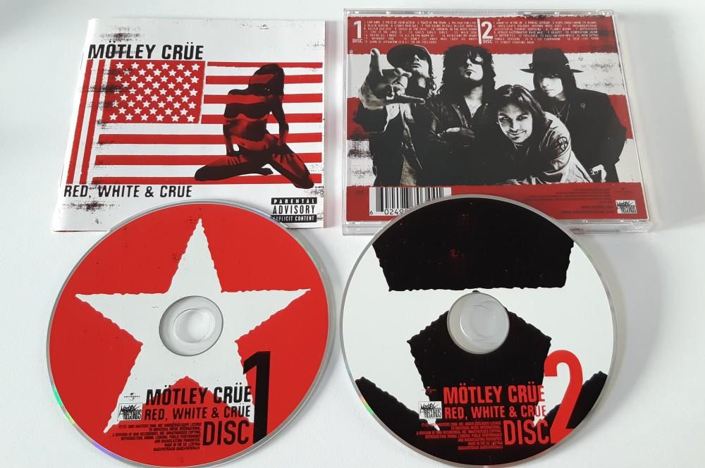 ea0719ec4196b Motley Crue - Red, White & Crue CD Photo | Metal Kingdom