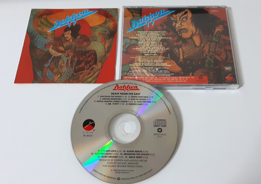 Dokken - Beast From the East CD Photo
