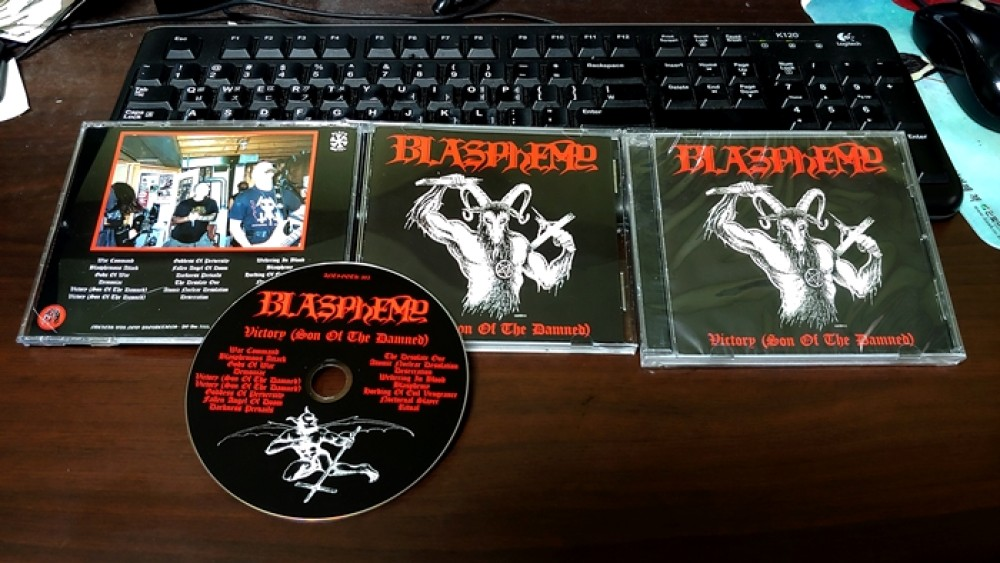 Blasphemy - Victory (Son Of The Damned) CD Photo