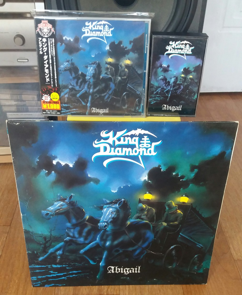 King Diamond - Abigail Vinyl, CD, Cassette Photo