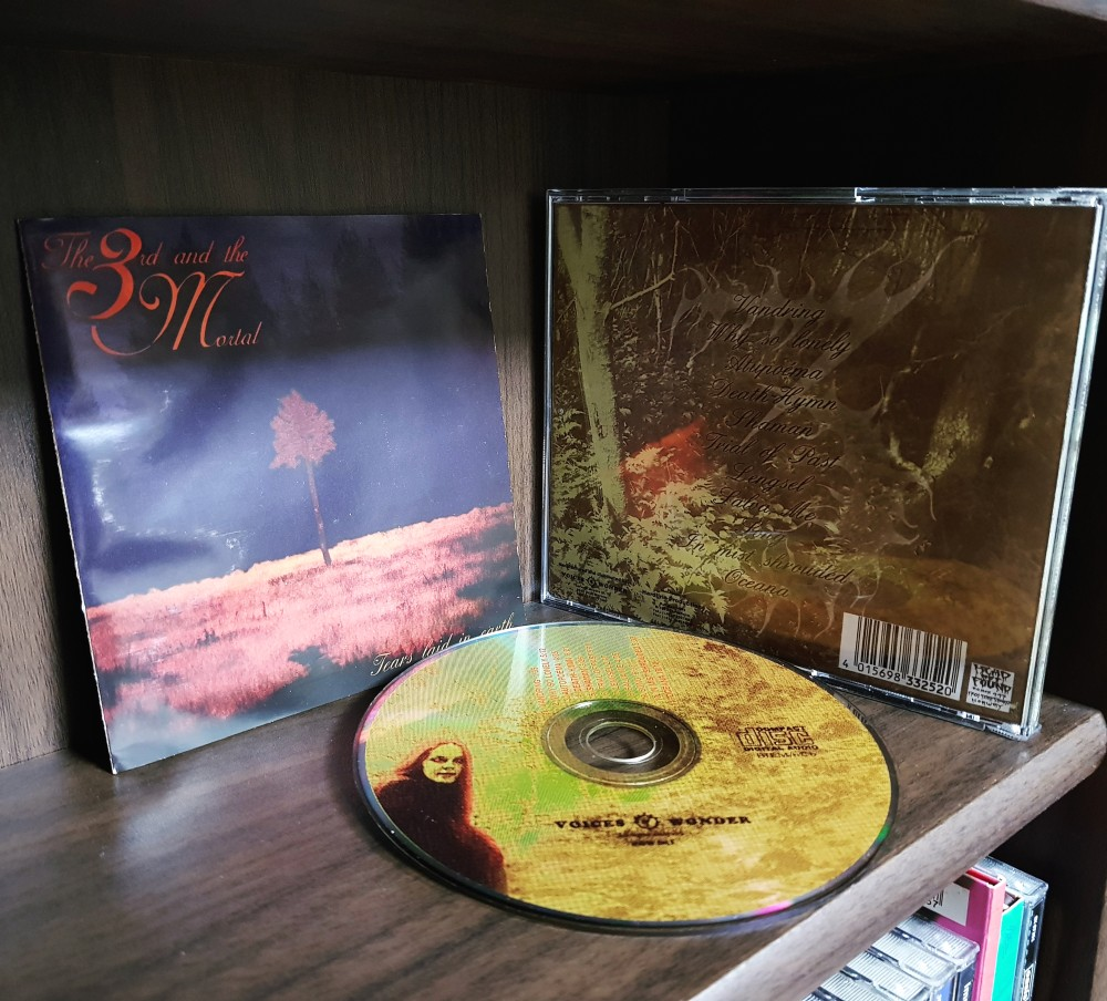 The 3rd And The Mortal - Tears Laid in Earth CD Photo