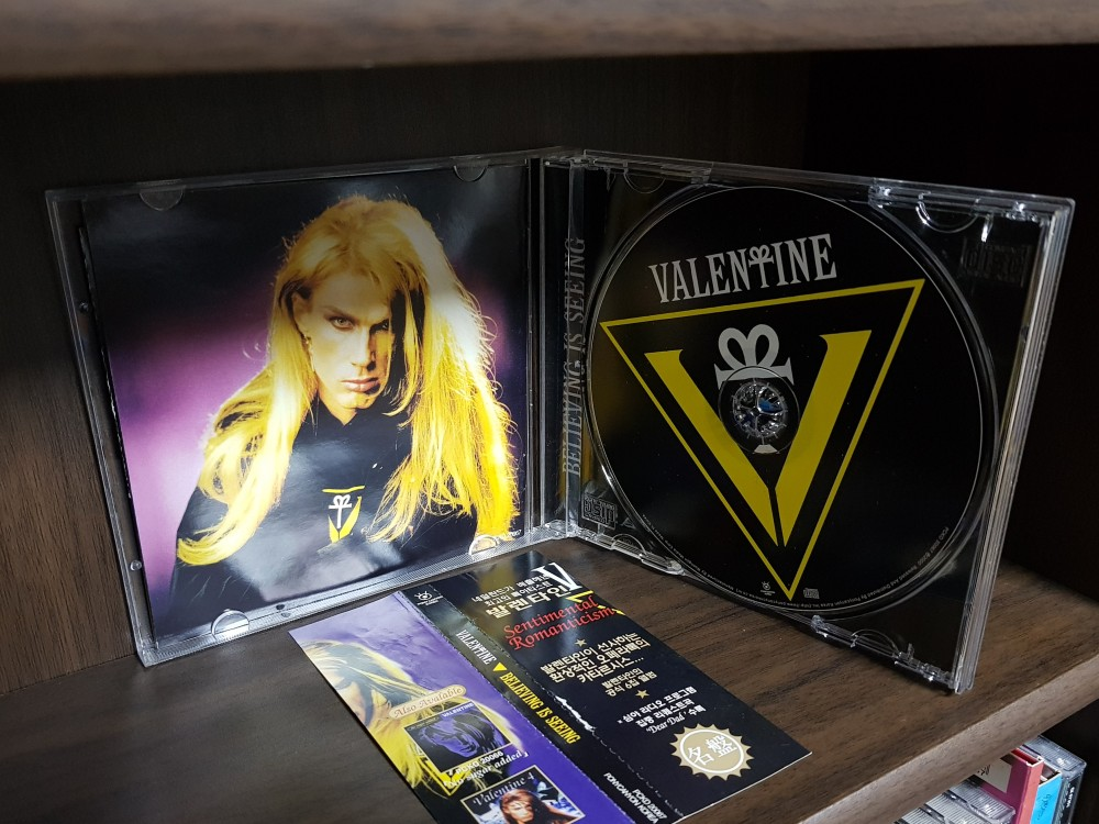Valentine - Believing Is Seeing CD Photo