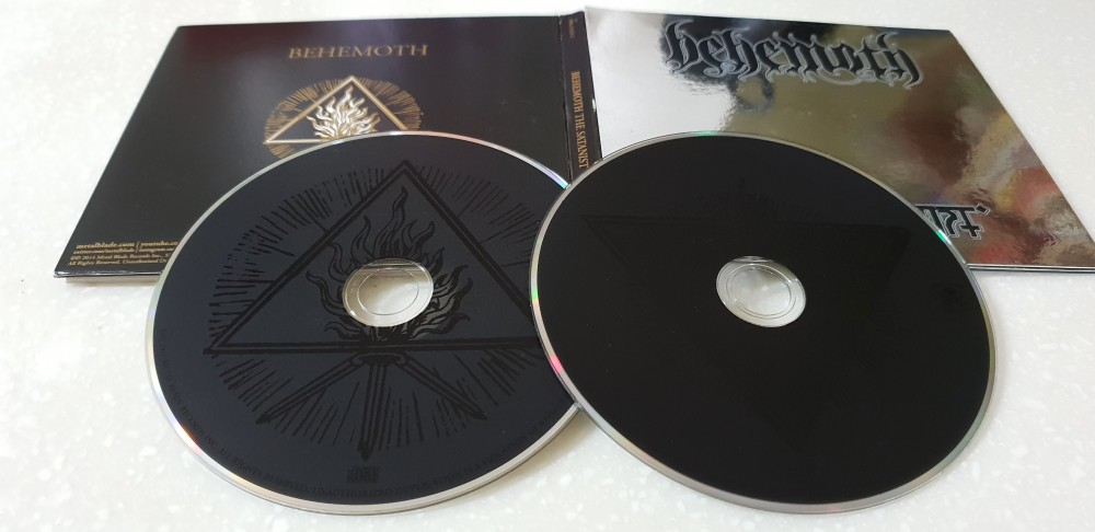 Behemoth - The Satanist CD Photo