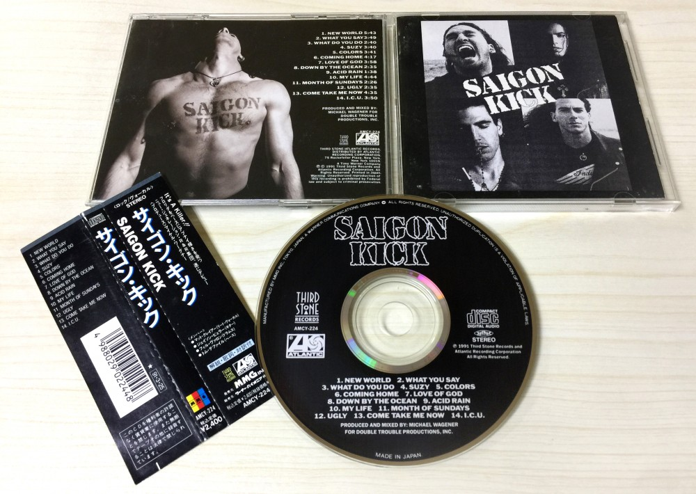 Saigon Kick - Saigon Kick CD Photo