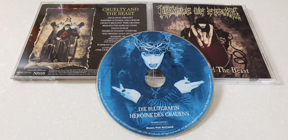 Cradle of Filth - Cruelty and the Beast CD Photo