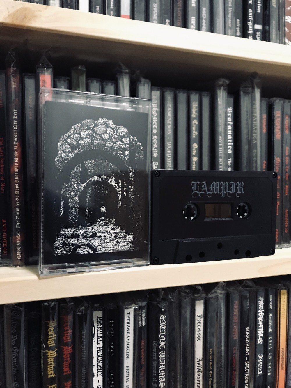 Lampir / Witchmoon - Lampir / Witchmoon Cassette Photo