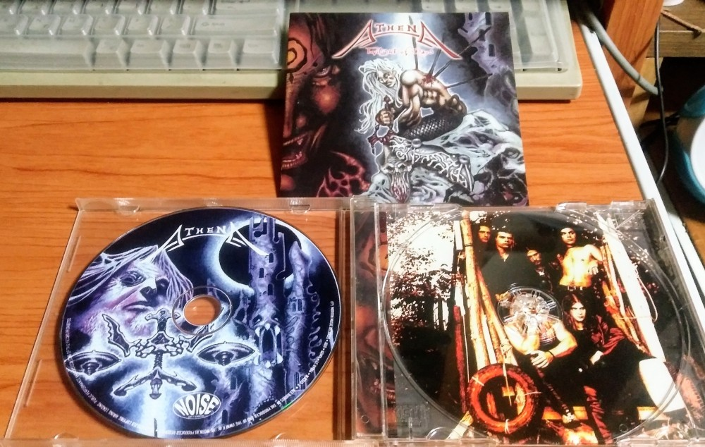 Athena - Twilight of Days CD Photo