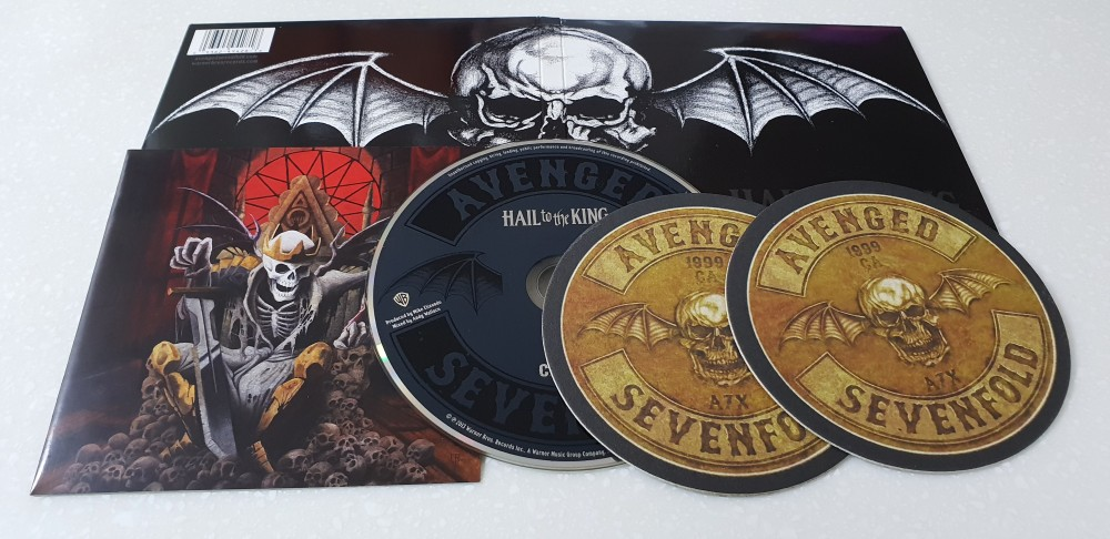 Avenged Sevenfold - Hail to the King CD Photo